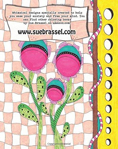 Amazon Random Doodles Coloring Book Volume 1 9781512338683 Sue Brassel Books