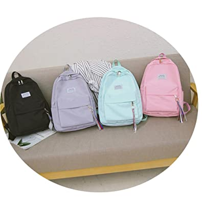 Amazon.com: Travel Backpack Female Ribbon Girl Women Backpack Shoulder Bag mochilas mujer feminina: Shoes
