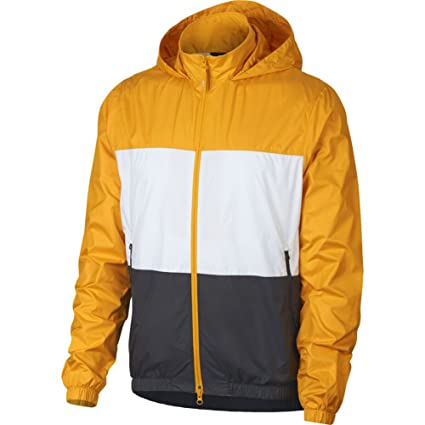 3407c1665c02 Amazon.com  Nike SB Shield Windbreaker Yellow Ochre Size M  Sports ...