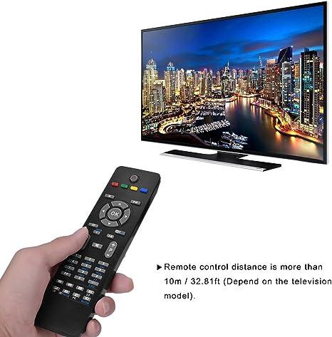 Tosuny Mando a Distancia de Repuesto para Televisor Hitachi, Control Remoto de Reemplazo Universal Inteligente LED LCD TV RC1205 para Hitachi Smart TV: Amazon.es: Electrónica