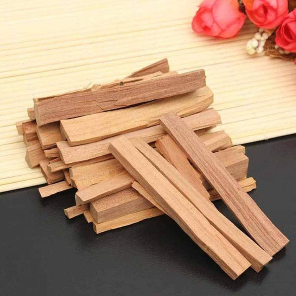 IMIKEYA Palo Santo Holy Wood Incense Sticks Natural Sandalwood for Purifying Cleansing Healing Meditating and Stress Relief 250g