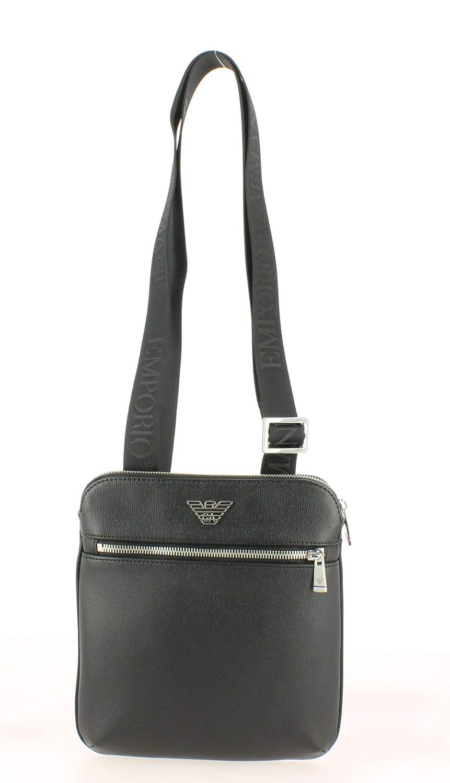Emporio Armani Business Logo Homme Cross Body Bag Noir Y4M185YLA0E81072