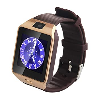 Zinniaya Smart Watch Dz09 Gold Silver Smartwatch Relojes para iOS ...