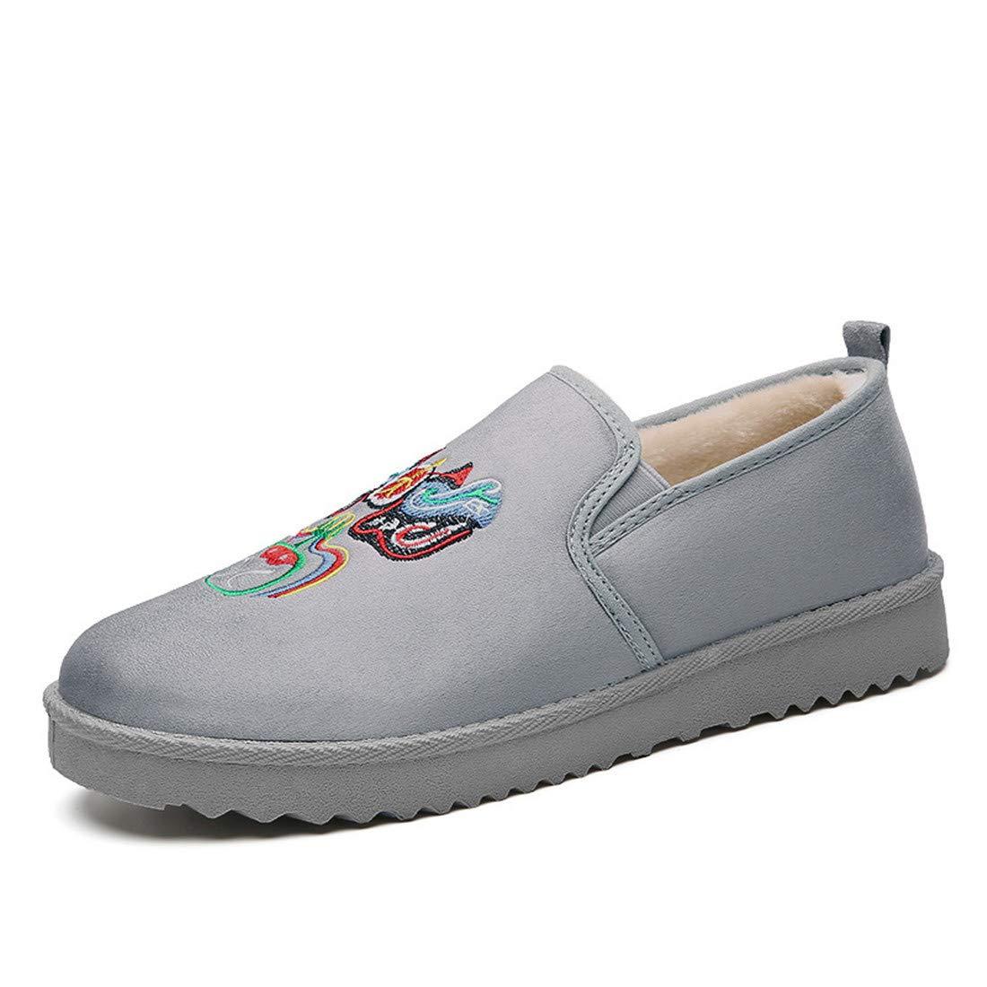 CAI&HONG-Domestics GHH Mode Baumwolle Schuhe Plus warme Männer SAMT