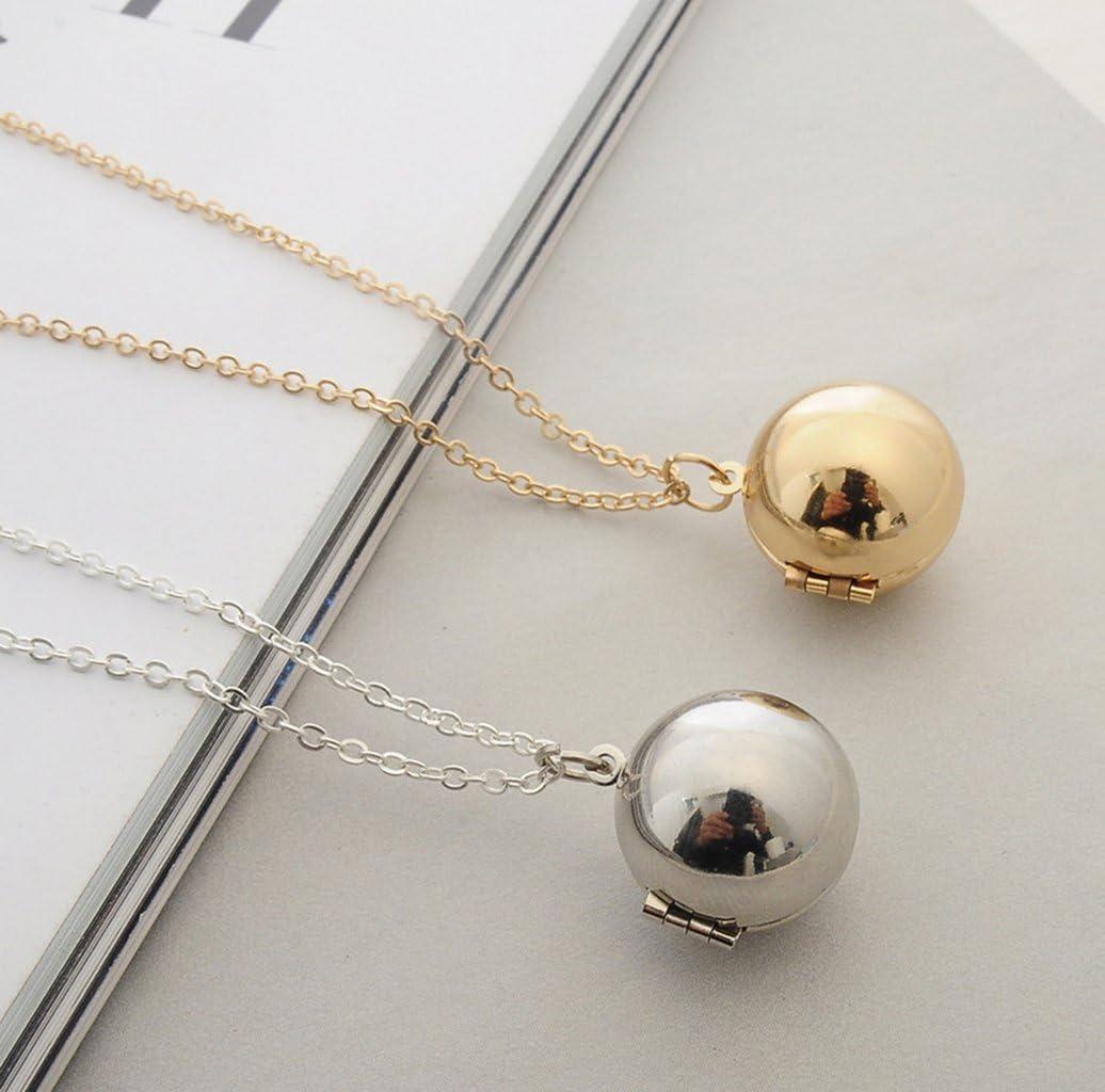 Amazon.com: Cute Snitch collar puede abrirse lindo bola caja ...