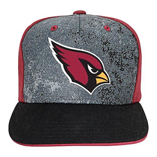 Outerstuff NFL Arizona Cardinals Boys Magna Flatbrim Snapback, Cardinal, One Size
