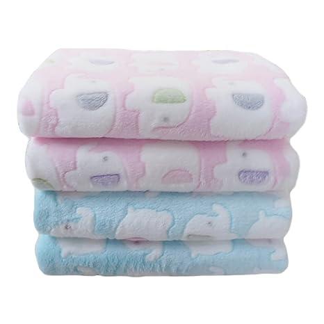 e3d339bc4 LIMISKY Mantitas para bebés Mantas pequeñas envolventes de bebé niños  Mantitas infantiles suave espeso otoño e