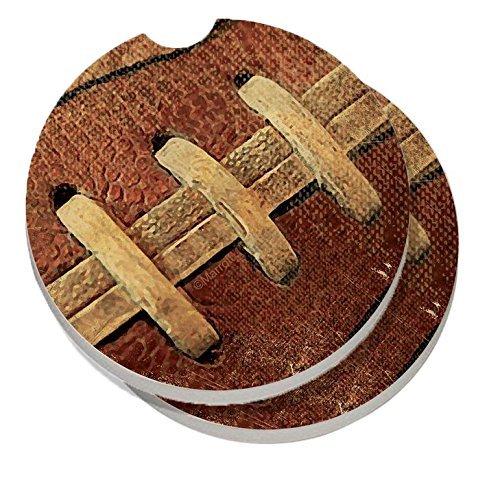 CounterArt Absorbent Stoneware Coaster Football