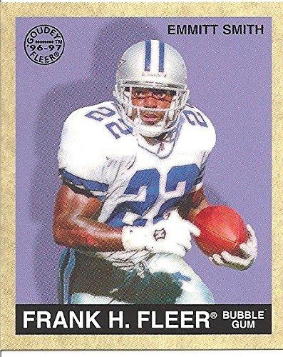 Fleer Bubble Gum (1997 FLEER - EMMITT SMITH - FRANK H. FLEER BUBBLE GUM FOOTBALL CARD #97 - FREE SHIPPING)