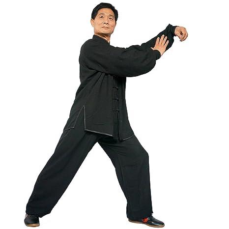 Amazon.com: Traje de traje de taichi, Artes Marciales, Kung ...