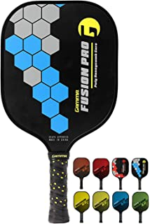 Gamma New 2.0 Pickleball Paddles (Graphite and Fiberglass Composite Face, New Textured/Older