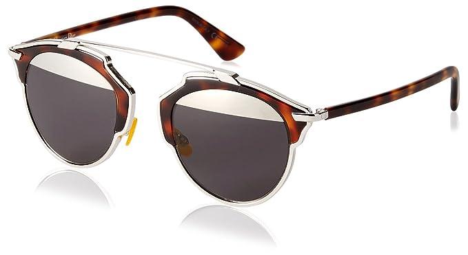 Dior DIORSOREAL MD AOO Gafas de sol, Marrón (Palladium ...