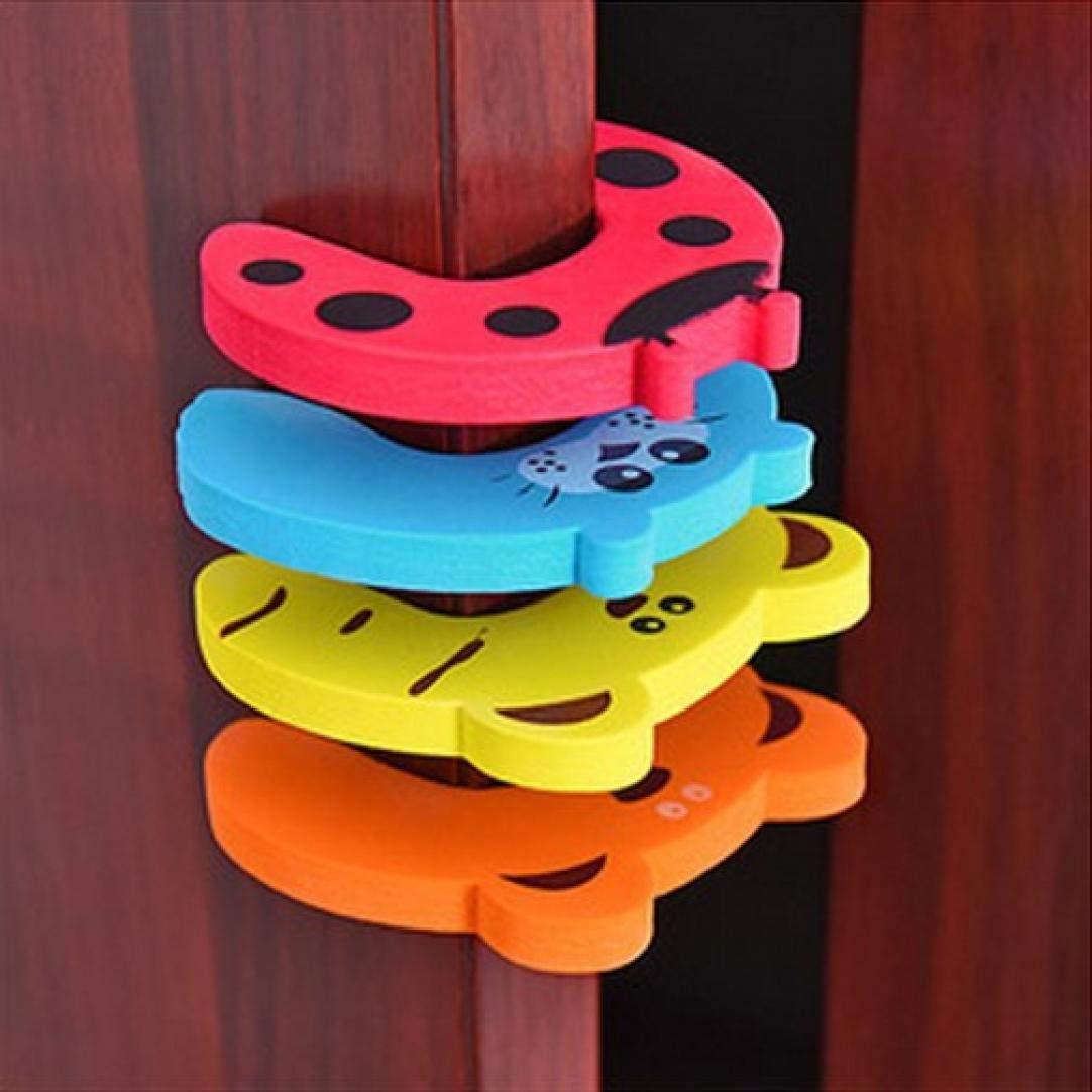 5 St/ück Clamp Schutz f/ür Fenster T/üren T/ür T/ürstopper Fingerklemmschutz Fenster Stopper Schutz f/ür Babys und Kleinkinder