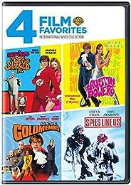 4 Film Favorites: International Spies [Importado]