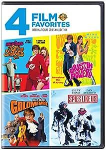 4 Film Favorites: International Spies (Austin Powers in Goldmember, Austin Powers: International Man of Mystery, Austin Powers: The Spy Who Shagged Me, Spies Like Us)