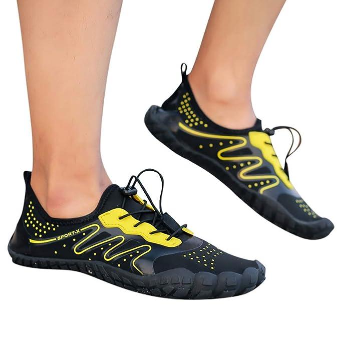 Bestow Zapatos Creek Zapatos de Buceo de Snorkel Velocidad de interferencia Aguas Arriba de Playa al