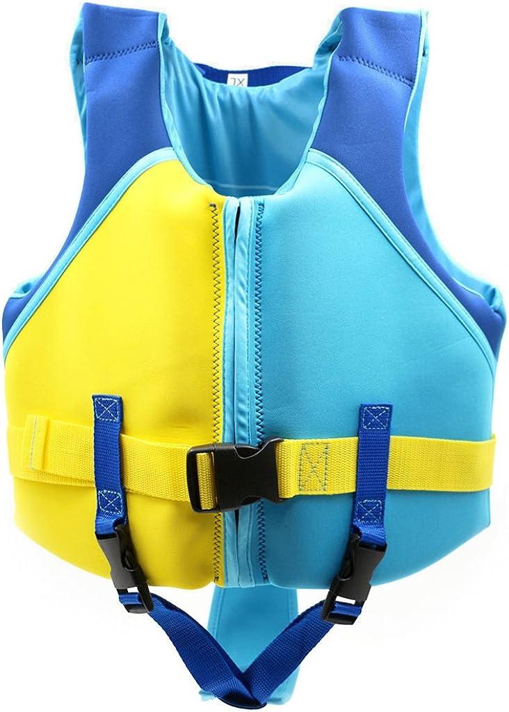 Sundwsports Chaleco de Flotación para Niños Chaqueta de Entrenamiento para Nadar para Niños Aprenda a Nadar