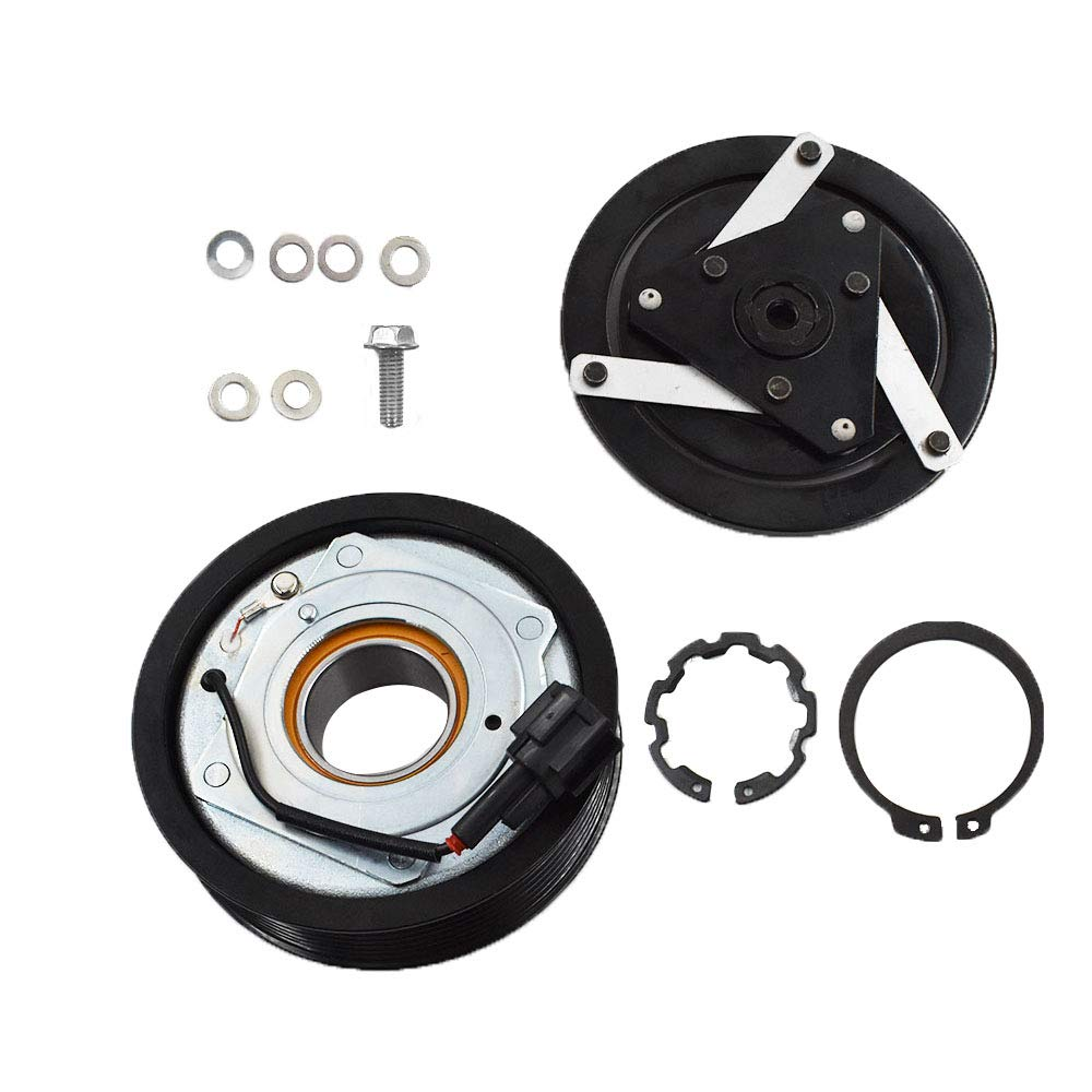 labwork A//C Compressor Clutch Assembly Kit for Infiniti G35 Sedan 2007-2008 M35 2009-2010