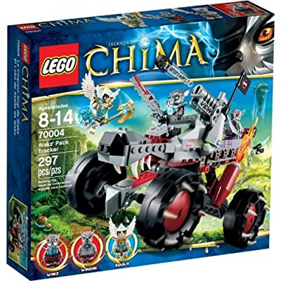 Lego Chima Wakz Pack Tracker 70004 by LEGO