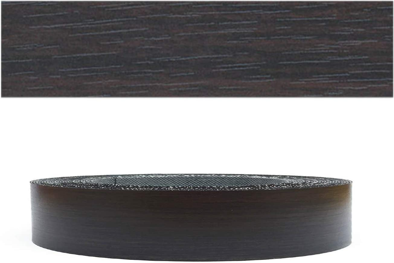 Cantoneras laminadas melamina para rebordes con Greve Negro Liso 45 mm 20m rollo Mprofi MT/®