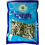 ROM AMERICA Korean Large Size Dried Anchovies 12 oz Dasi Anchovy for Soup Stock , 다시멸치