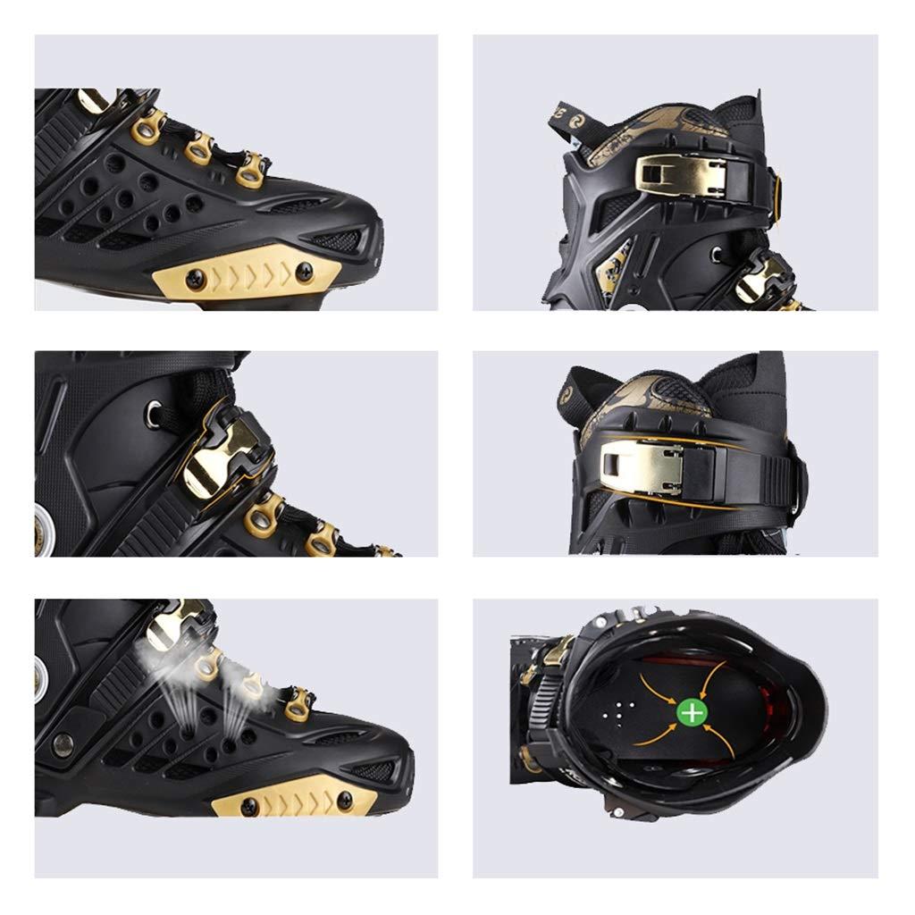LXP Inline Skates Erwachsen-Anfänger-einzelne Reihen-Rochen, Berufs-Fantastische Berufs-Fantastische Berufs-Fantastische Inline-Rollen-Schuhe, Antikollisions-Dämpfung, Breathable, 3 Farben Professionelle Skates mit hoher Konfiguration B07QPCK6H8 Inline-Skates Neue Sorten werden eingef c1eaac