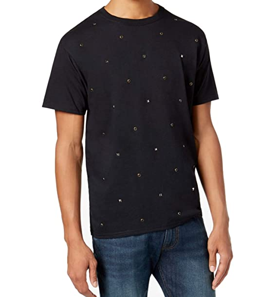 41aa1f503d8 Sean John Men s Multi Studded Short Sleeve T-Shirt