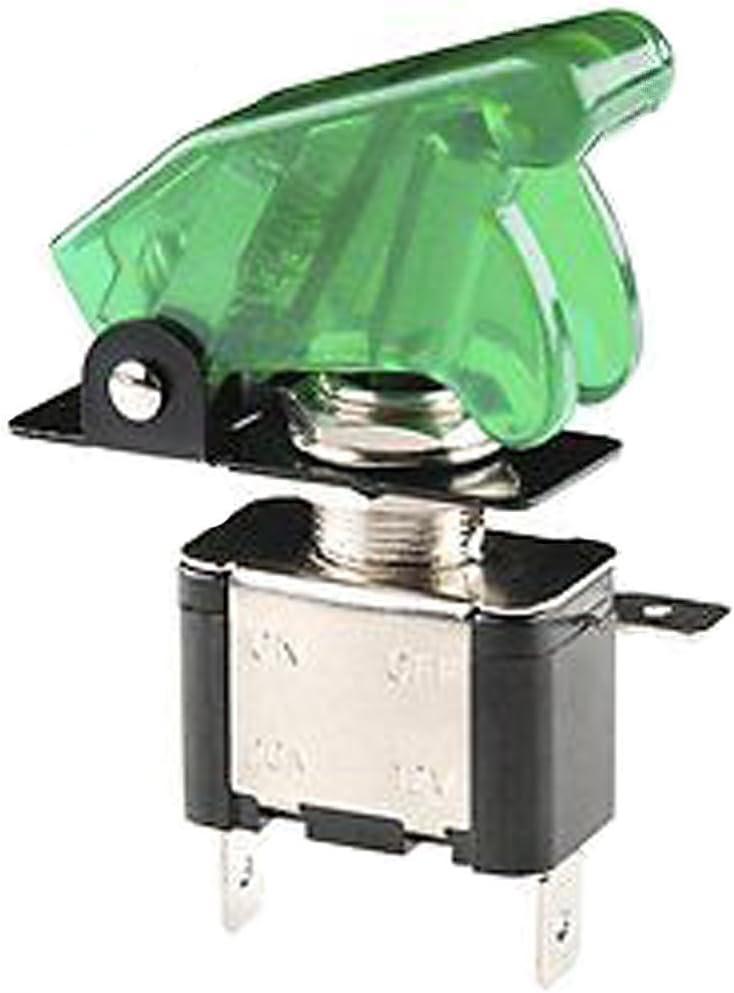 Mintice trade; 5 X KFZ Auto Boot Blau LED Licht Schalter SPST EIN//AUS Wippenschalter Kippschalter 3-polig 12V 20A
