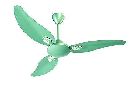 Buy crompton 48 lerone metallic green ceiling fan online at low crompton 48quot lerone metallic green ceiling fan mozeypictures Gallery