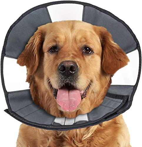 ZenPet-Pet-Recovery-Cone-E-Collar-for-Dogs-and-Cats
