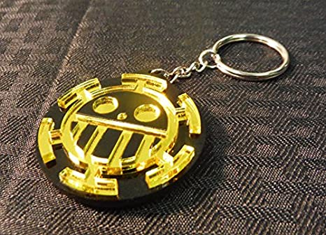 Amazon.com: Una pieza Trafalgar Law corazón piratas Jolly ...