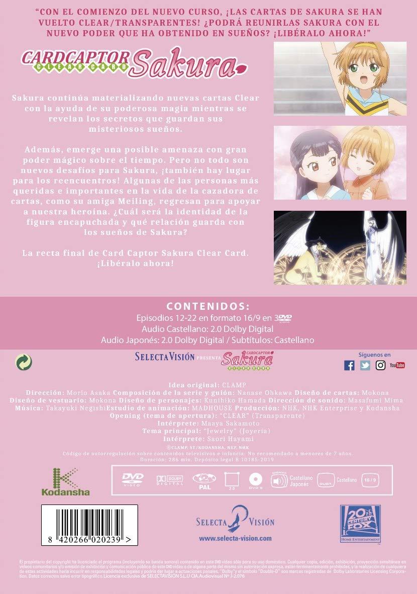 Card Captor Sakura Clear Card Episodios 12 A 22 Parte 2 DVD ...