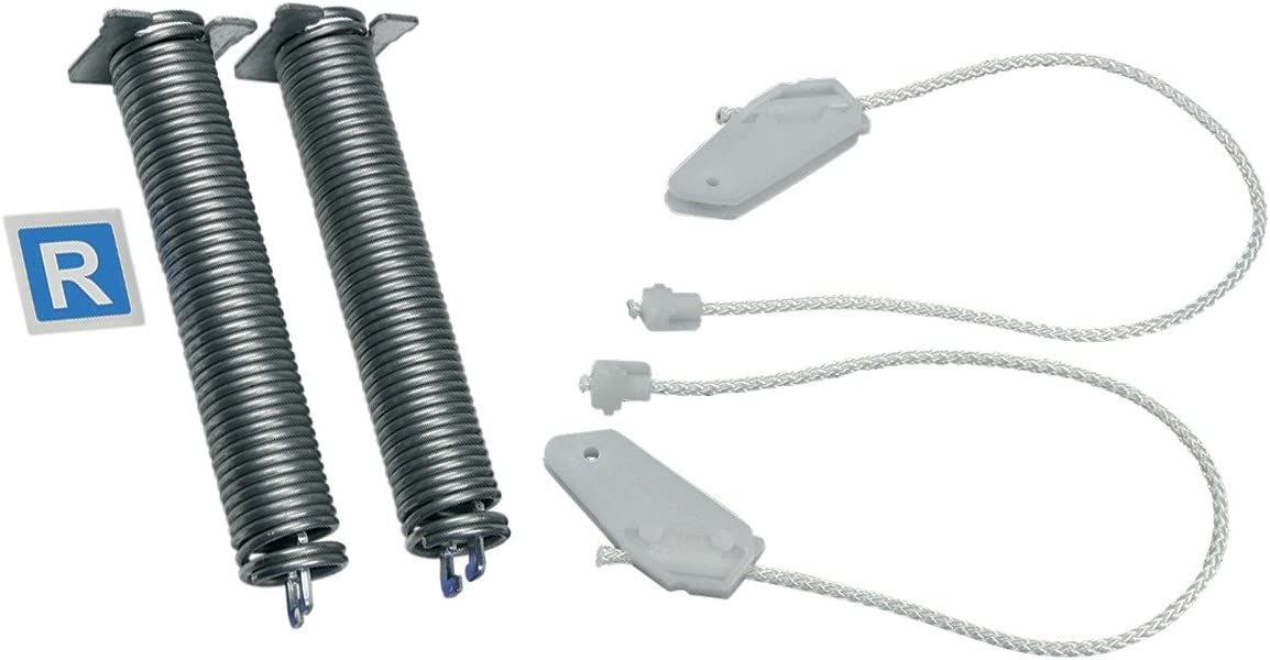 Bosch Siemens 00754867 754867 Balay Constructa Junker Neff Viva - Bisagras para puerta con muelle y cable, color azul