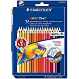 Staedtler Watercolor Pencils, Box of 36 Colors (14410ND36)
