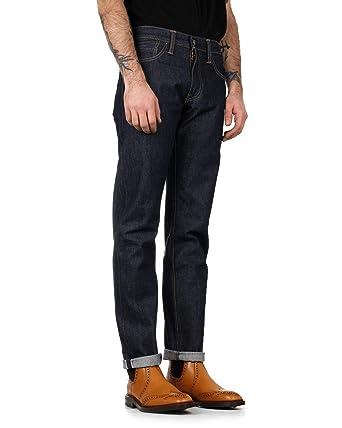 4de84fd156a Levi's Mens 511 Slim Fit Jeans in Dark Blue- Five Pocket Design- Zip ...