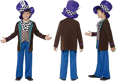 Fancy Dress World 42842 - Disfraz de Sombrero para niños, Ideal ...