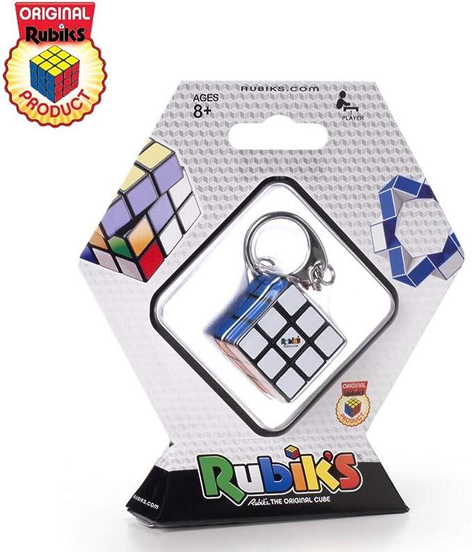 Rubiks - Llavero Cubo de Rubik, Accesorio clásico, 3 x 3 Mini , Juguete de Viaje: Amazon.es: Juguetes y juegos