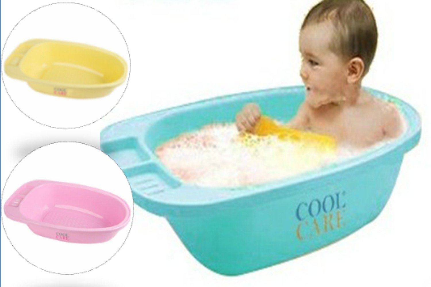 Amazon.com: Cool Care Anti Slip Baby Bath Tub for Sitters, 100 ...