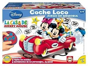 Educa Borrás 13641 - Coche Loco Mickey Mouse