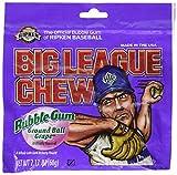 Big League Chew Grape Bubble Gum - 2.1 oz (12 pack)