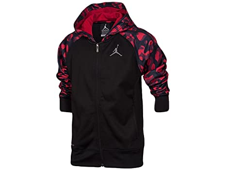5fb474305ed4 Amazon.com  Jordan Nike Boys Camo Full-Zip Hoodie Jacket Size 6 ...