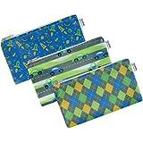 Cloth Snack Bags - Set of 3 - Yummi Pouch (Flashy)