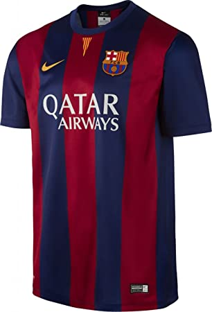 new styles fb8cf 45de9 Nike FC Barcellona SS HOME stadium jersey Blue Red 14/15 Barcelona