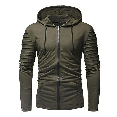 Amazon.com: Amiley Sudadera con capucha para hombre, con ...