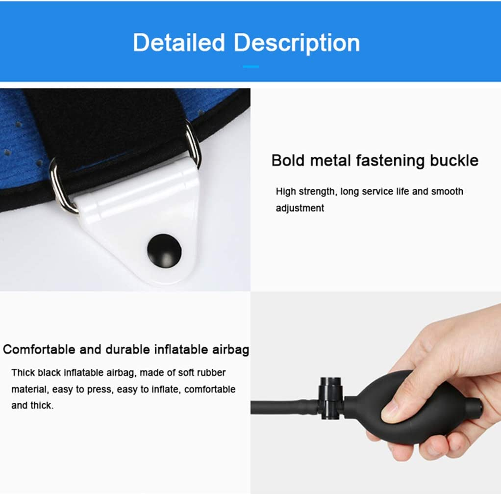 Adjustable Lumbar Orthosis for Waist Compression Fracture Support Lumbar Postoperative Support for Spinal Protectors Breathable Lining Plastic Plate Support NYPB Lumbar Spine Orthosis