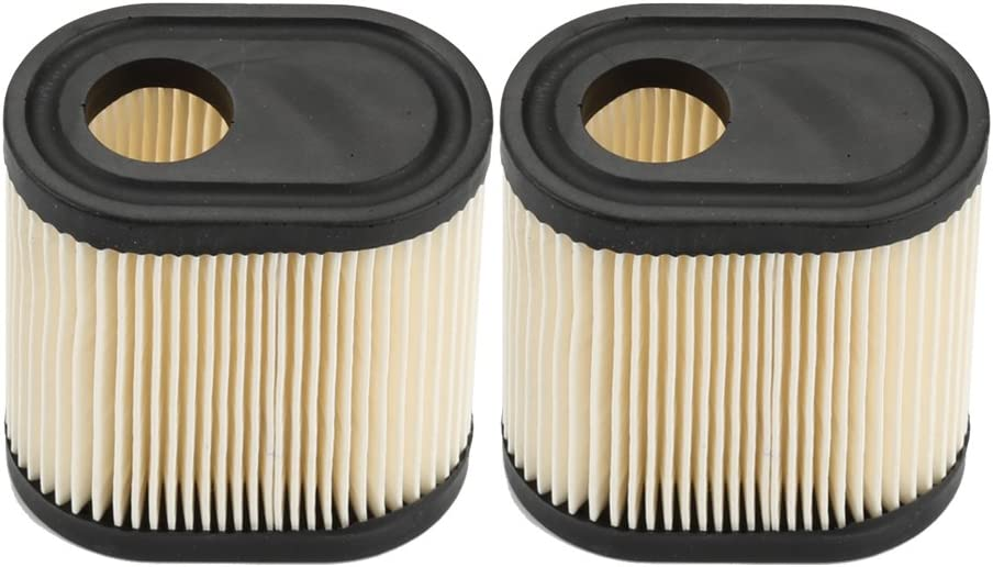 Milttor 2 Packs 36905 Air Filter for Tecumseh 740083A LEV100 LEV115 LEV120 OVRM105 OVRM65 TVS115 TVS120 Toro Craftsman Lawn Mower