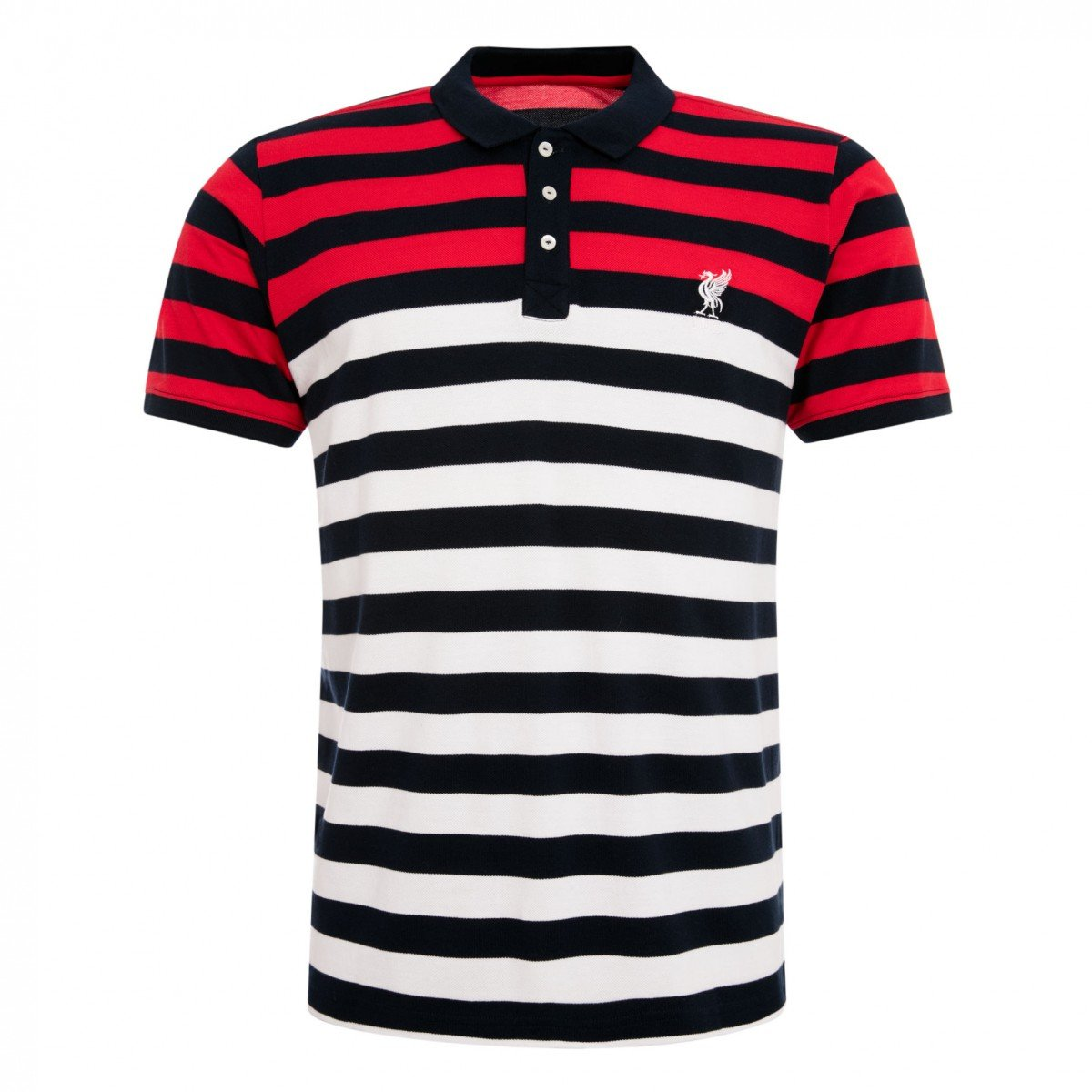 Liverpool FC Core Striped Polo Camiseta, rojo, blanco, negro, xx ...