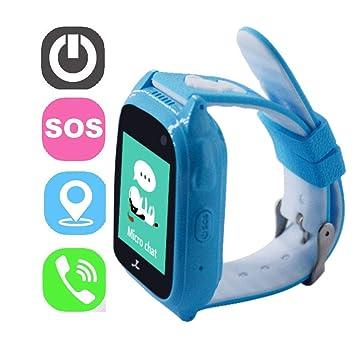 zeer Keer Reloj de Pulsera Kids Smartwatch con l353 zm18 ...