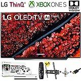 LG Electronics OLED65C9PUA C9 Series 65' 4K Ultra HD Smart OLED TV (2019) w/Xbox One S NBA 2K19 w/3 in 1 Wall Mount kit-...