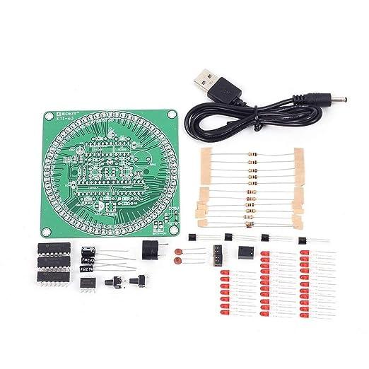 Elektronisches Diy Kit 60 Sekunden Countdown Timer Diy Kit Rot Smart Timing Alarm Elektronische Teile Und Komponenten Gewerbe Industrie Wissenschaft